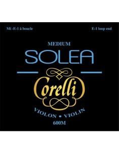 600M Set Corde Violino Solea Corelli, Tensione Media, loop end