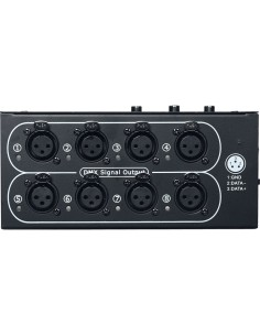 SPLIT DD8 Splitter DMX 8 Canali