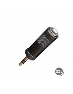 Bespeco AD5 Adattatore da spina 3,5 mm stereo a presa diam 6,3 stereo