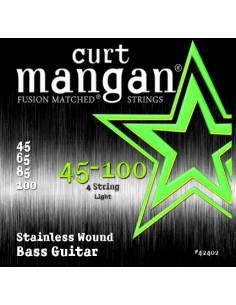 Curt Mangan Stainless Wound 45-100 muta per basso