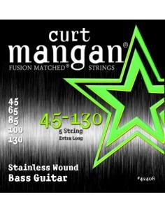 Curt Mangan Stainless Wound 45-130 muta per basso