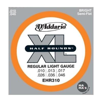 D'Addario Half Round EHR310 10-46
