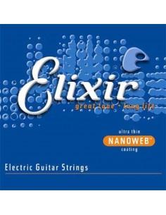 Elixir Nanoweb Custom Light .009-.046