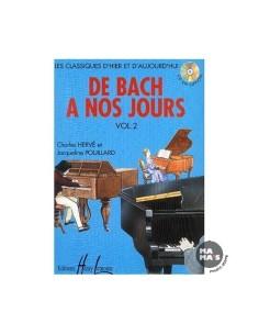 Hervè Pouillard - De Bach à nos jours - Vol. 2A