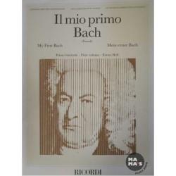Il mio primo Bach 12 pezzi facili per pianoforte ed. Ricordi