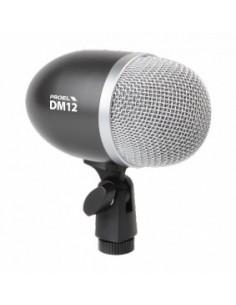 Proel DM12 microfono dinamico per cassa e strumenti a basse frequenze
