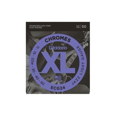 D'Addario Chromes ECG24 11-50 Lisce