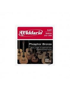 D'Addario EJ17 13-56 Phosphor Bronze