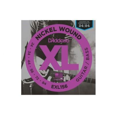 D'Addario EXL156 Muta per Fender Bass VI