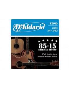 D'Addario EZ910 85/15 Bronze 11-52