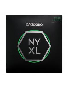 D'Addario NYXL4095 Nickel Wound Super Light 40-95