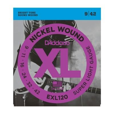 D'Addario XL EXL120 Muta per chitarra