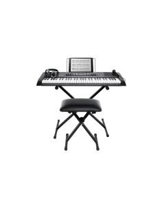 Alesis Harmony 61 MKII Tastiera 61 Tasti con Stand Panchetta Cuffie e Microfono