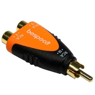 Bespeco SLAD 355 Connettore RCA femmina RCa maschio