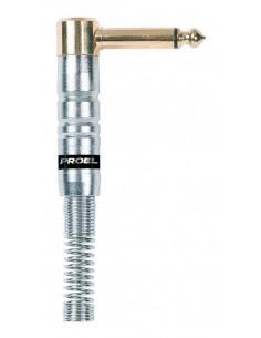 Proel S242 Connettore Jack Mono Professionale Angolare 63 MM 1/4