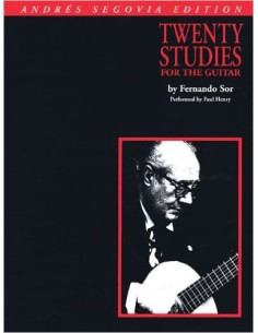 Fernando Sor - Andres Segovia 20 Studi per Chitarra