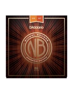 D'Addario NB1047 Nickel Bronze Acoustic
