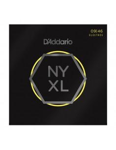 D'Addario NYXL0946 Nickel Wound Super Light Top 09-46