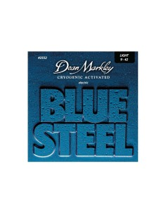 Dean Markley DM-2552-LT blue steel 09-42 muta per chitarra elettrica