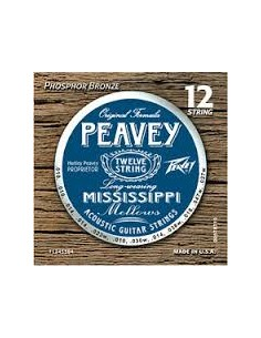 Peavey Mississippi Phosphor bronze 12 corde 010