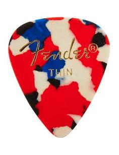 Fender Plettri Confetti Thin (12pz)