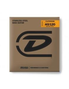 DBFS40120M Corde basso Flatwound Light Scala media Set/5