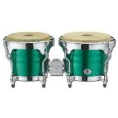 Bongos Metal. Green
