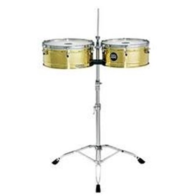 """Brass Timbales 13"""" + 14"""""""