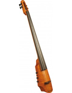CR Electric Cello 4 Amber Stain