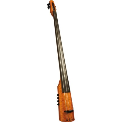 CRT Electric Upright Bass 5 Amber Stain