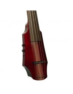 WAV Electric Cello 4 Transparent Red