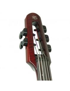 WAV Electric Cello 5 Transparent Red