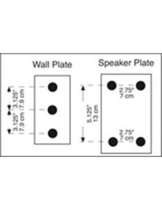 QL/60 Supporto a muro per speaker