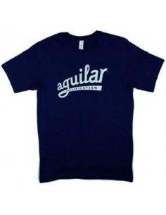 T-shirt con logo Aguilar taglia XL
