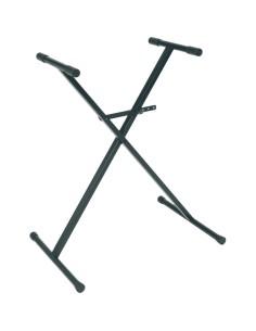 X1P Stand a X per Tastiera Telaio Singolo Nero Preassemblato