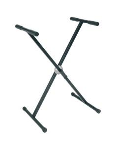 RX20-B Stand a X per Tastiera pesante Telaio Singolo Ball Lock Nero