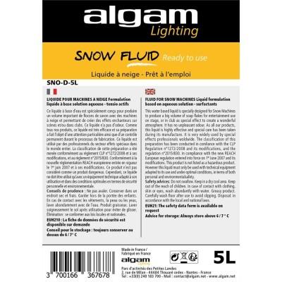 SNO-D-5L Liquido Neve Pronto all'Uso 5L