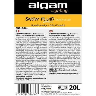 SNO-D-20L Liquido Neve Pronto all'Uso 20L