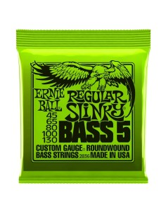 2836 Nickel Wound 5 corde Regular Slinky 45-130