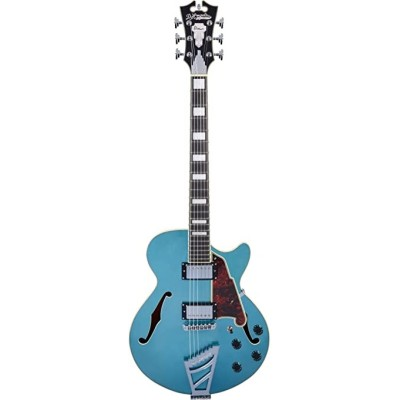D'Angelico Premier SS Semi-Hollow Ocean Turquoise