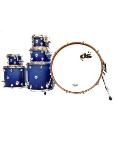 DS Drum Rebel Azure Fade WBS All Maple 22-8-10-12-14-16 B-Stock