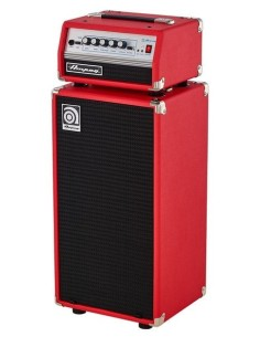 Ampeg Micro VR Stack Limited Edition Red 2x10 200 Watts RMS 4 Ohm