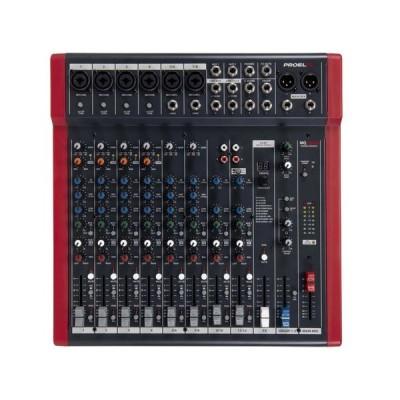 PROEL MQ12USB MIXER 12 CANALI CON EFFETTI DIGITALI E USB B-Stock