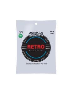 Martin MM10X Retro Acoustic Extra Light Monel Wound 10-47