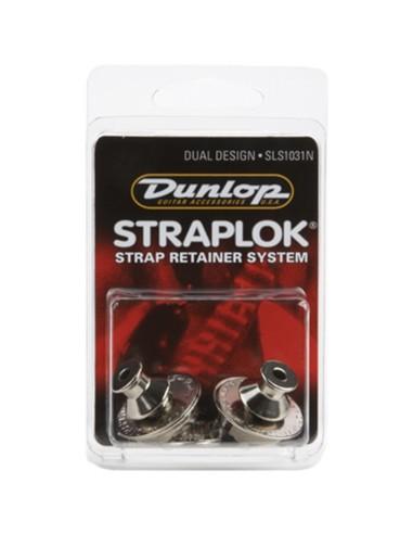 Dunlop SLS1031N Straplok Dual Design Strap Retainer System,