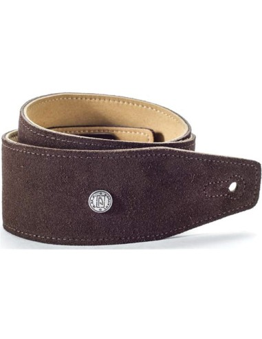 Dunlop BMF-S02 STRAP SUEDE MAHOGNY