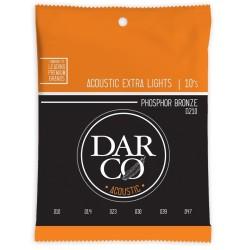 Martin Darco D210 Darco Acoustic Extra Light Phosphor Bronze 10-47
