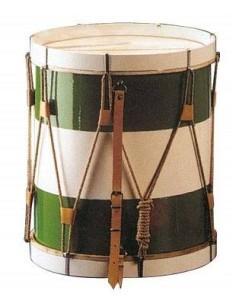 Honsuy 2555 tamburo bicolore 40,5 x 50 cm