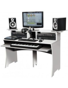 Glorius Workbench White Workstation per Home Recording e Studio Bianca B-Stock