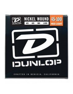 DUNLOP DBN45100 Nickel Wound, Medium Light